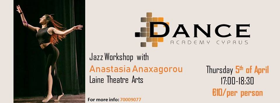 Jazz workshop - Dance Academy Cyprus